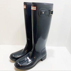 HUNTER   Original Gloss Tall Boot